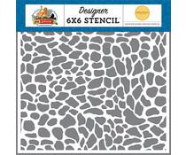 Carta Bella Reptile 6x6 Inch Stencil (CBZA128036)