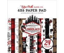 Echo Park Let's Lumberjack 6x6 Inch Paper Pad (LU225023)