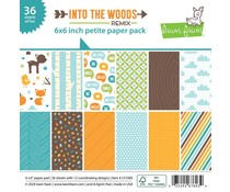 Lawn Fawn Into the Woods Remix 6x6 Inch Petite Paper Pad (LF2385)