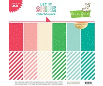 Lawn Fawn Let it Shine 12x12 Inch Collection Pack (LF239)