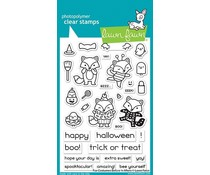 Lawn Fawn Fox Costumes Before 'n Afters Clear Stamps (LF2401)