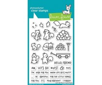 Lawn Fawn Let's Go Nuts Clear Stamps (LF2407)