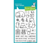 Lawn Fawn Den Sweet Den Clear Stamps (LF2409)