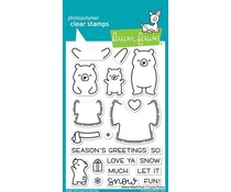 Lawn Fawn Snow Much Fun Clear Stamps (LF2411)