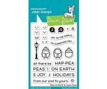 Lawn Fawn Peas on Earth Clear Stamps (LF2421)