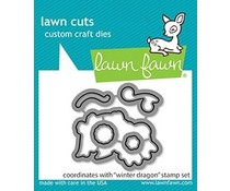 Lawn Fawn Winter Dragon Dies (LF2426)