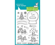 Lawn Fawn Snow Globe Scenes Clear Stamps (LF2427)