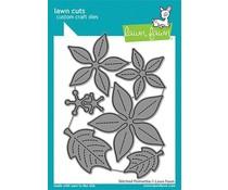 Lawn Fawn Stitched Poinsettia Dies (LF2441)