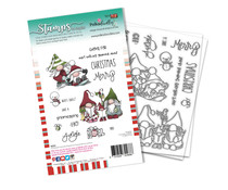 Polkadoodles Gnomeazing Christmas Clear Stamps (PD8096A)