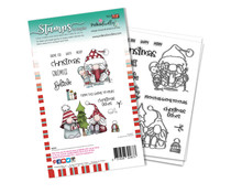 Polkadoodles Christmas Fishes Clear Stamps (PD8097A)