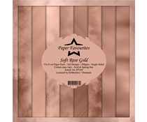 Paper Favourites Soft Rose Gold 6x6 Inch Paper Pad (PF149)