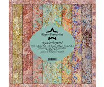 Paper Favourites Rustic Textured 6x6 Inch Paper Pack (PF150)