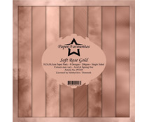 Paper Favourites Soft Rose Gold 12x12 Inch Paper Pack (PF349)