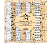 Paper Favourites Handwritten Music 12x12 Inch Paper Pack (PF352)