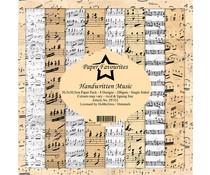 Paper Favourites Handwritten Music 12x12 Inch Paper Pack (PF352)