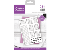 Crafter's Companion Clear Stamps Calendars (CC-STP-CALE)