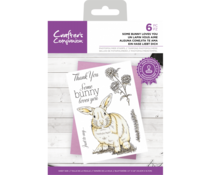 Crafter's Companion Clear Stamps Some Bunny Loves You (CC-STP-SBLY)
