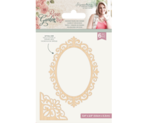 Crafter's Companion Rose Garden Wooden Frames and Corners (S-RGA-WOODFRAME)
