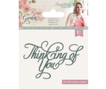 Crafter's Companion Rose Garden Die Thinking of You (S-RGA-MD-TOY)