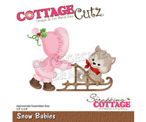 Scrapping Cottage Snow Babies (CC-831)