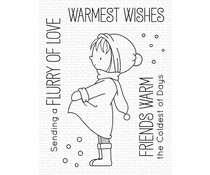 My Favorite Things Warmest Wishes Clear Stamps (BB-114)