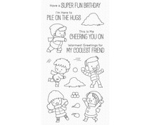 My Favorite Things Pile on the Hugs Clear Stamps (BB-115)