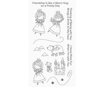 My Favorite Things Ice Princess and Friends Clear Stamps (CS-509)