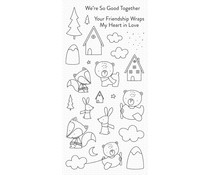 My Favorite Things Fox and Friends Clear Stamps (CS-515)