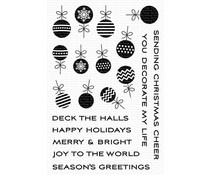My Favorite Things Ornament Banner Builder Clear Stamps (CS-519)