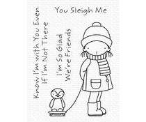 My Favorite Things You Sleigh Me Clear Stamps (PI-314)