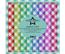 Paper Favourites Gingham Fabric 12x12 Inch Paper Pack (PF354)