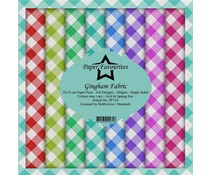 Paper Favourites Gingham Fabric 6x6 Inch Paper Pack (PF154)