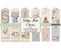 Reprint Vintage Home Collection Cutouts A4 Paper Pack (RKP002)