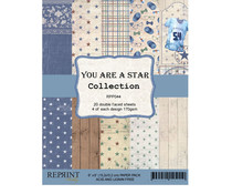 Reprint You are a Star Collection 6x6 Inch Paper Pack (RPP044)