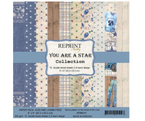 Reprint You are a Star Collection 8x8 Inch Paper Pack (RPM010)