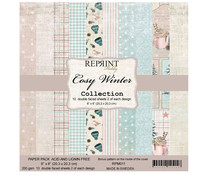 Reprint Cozy Winter Collection 8x8 Inch Paper Pack (RPM011)