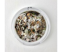 Picket Fence Studios Moscow Mule Sequin Mix (SQ-106)