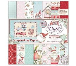 DayKa Trade Contigo Al Polo Norte 12x12 Inch Paper Pack (SCP-3033)