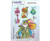 IndigoBlu Frank the Faerie A5 Rubber Stamps (IND0729)