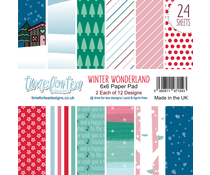 Time For Tea Winter Wonderland Paper Pads (T4T/498/Win/Pap)