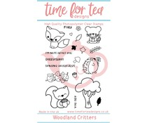 Time For Tea Woodland Critters Set Clear Stamps (T4T/158/Woo/Cle)