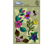 The Card Hut Flora Clear Stamps (CEDFL)
