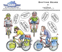 The Card Hut Great Outdoors: Shifting Gears Clear Stamps (MBGOSG)
