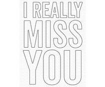 My Favorite Things I Really Miss You Die-Namics (MFT-1871)