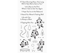 My Favorite Things Pandas at Play Clear Stamps (CS-521)