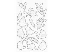 My Favorite Things Winter Songbird Die-Namics (MFT-1877)