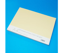 Craft UK Ivory Card A4 (CUK41274)