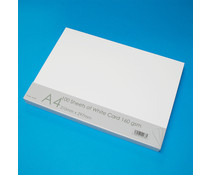 Craft UK White Card A4 (CUK41273)