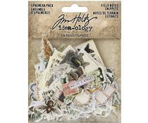 Idea-ology Tim Holtz Field Notes Ephemera Snippets (TH94049)