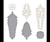 Spellbinders Gleaming Cross Glimmer Hot Foil Plate & Die Sets (GLP-243)